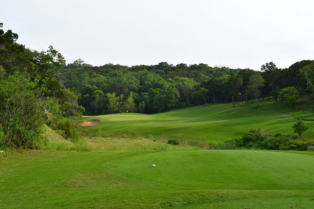 11th Hole at Barton Creek Resort (Fazio Canyons) (192 Yard Par 3)