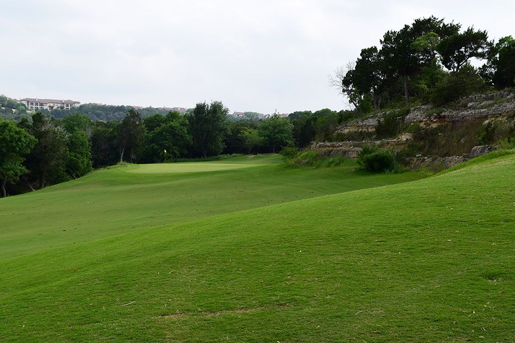 13th Hole at Barton Creek Resort (Fazio Canyons) (357 Yard Par 4)