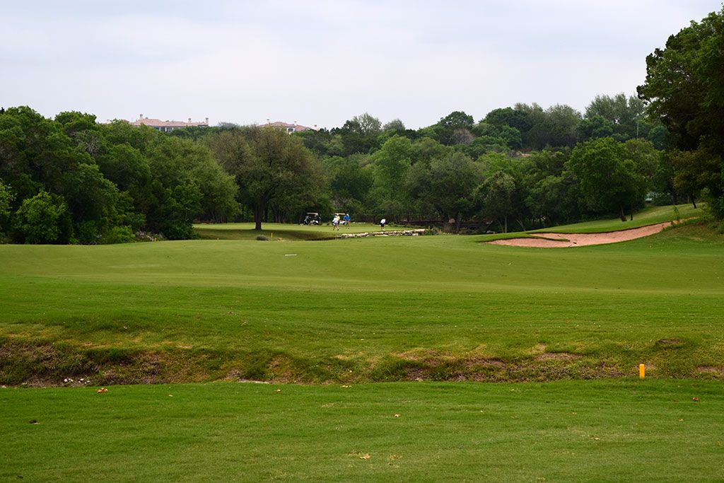 18th Hole at Barton Creek Resort (Fazio Canyons) (561 Yard Par 5)