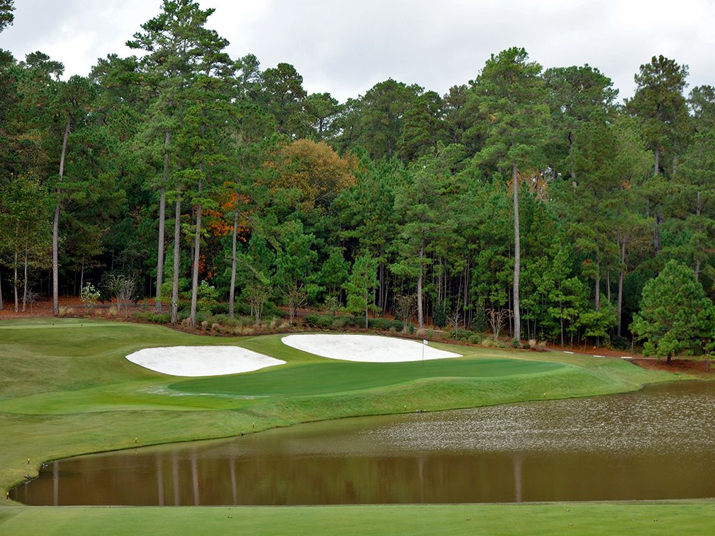 12th Hole at Bluejack National (180 Yard Par 3)