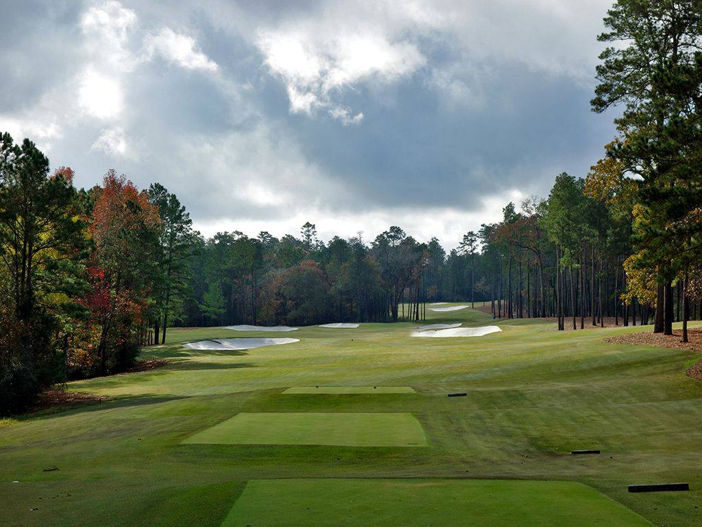 13th Hole at Bluejack National (508 Yard Par 5)