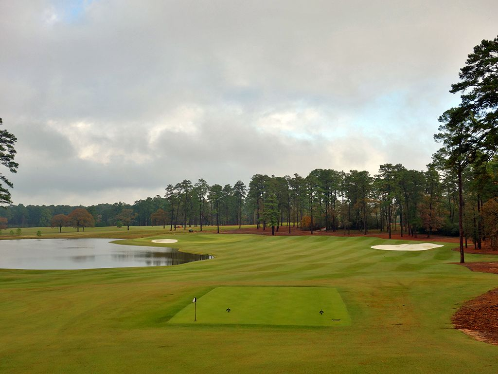 1st Hole at Bluejack National (428 Yard Par 4)