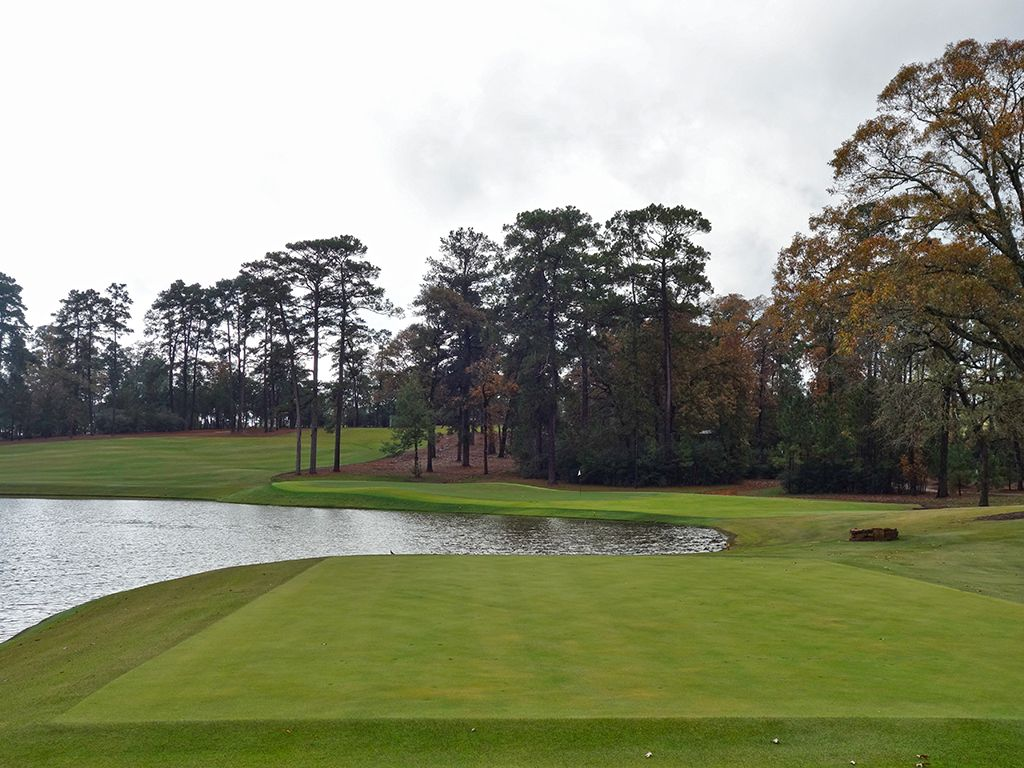 7th Hole at Bluejack National (137 Yard Par 3)
