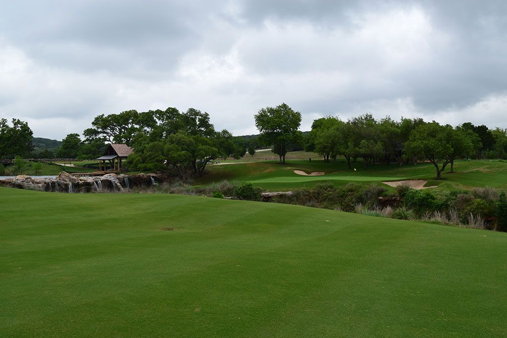 10th Hole at Boot Ranch (364 Yard Par 4)