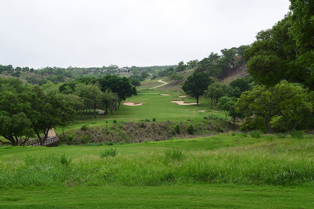 14th Hole at Boot Ranch (326 Yard Par 4)
