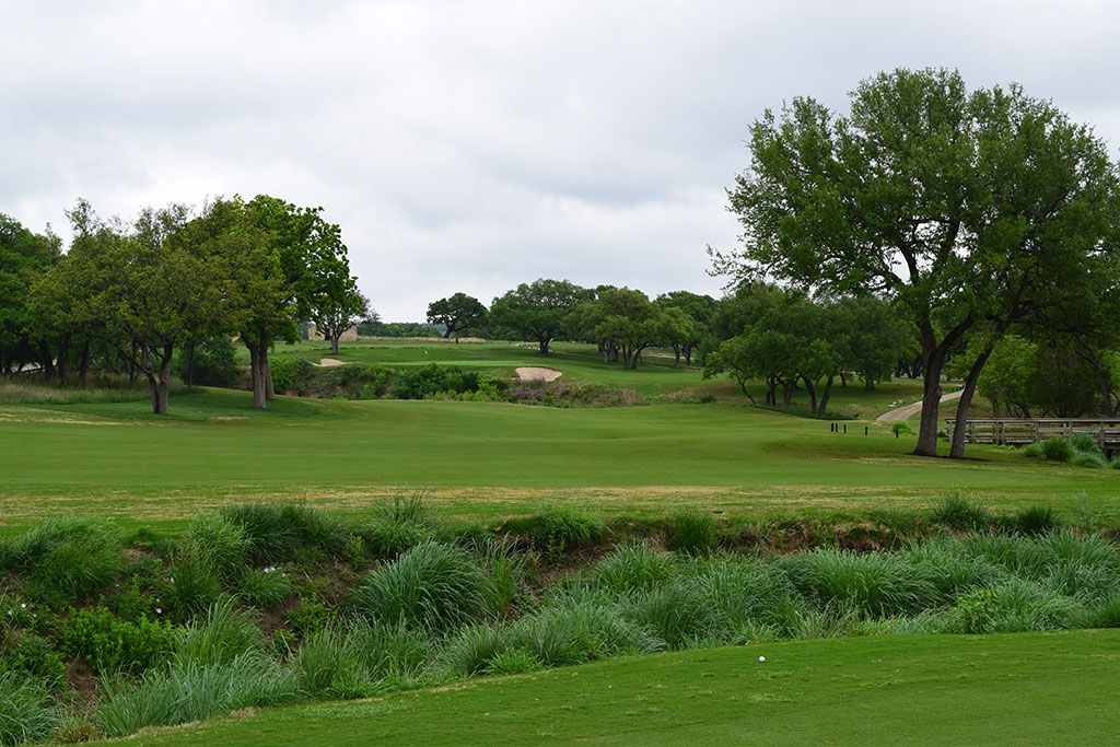 8th Hole at Boot Ranch (528 Yard Par 5)