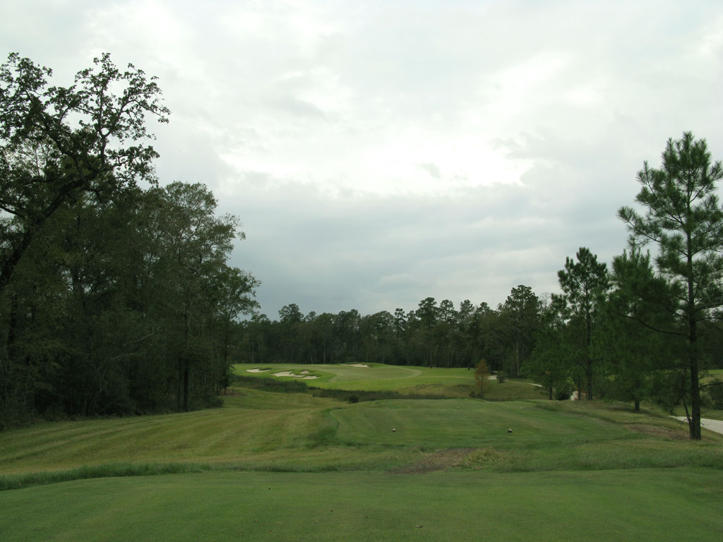 10th Hole at The Club at Carlton Woods (Fazio) (430 Yard Par 4)