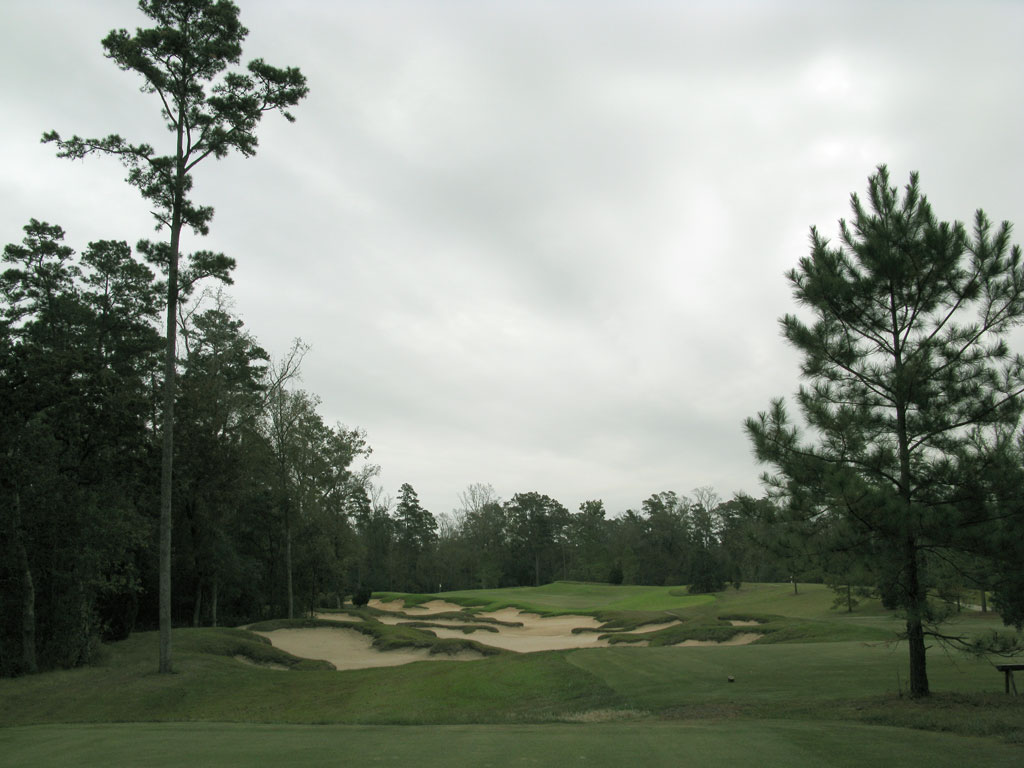 16th Hole at The Club at Carlton Woods (Fazio) (207 Yard Par 3)