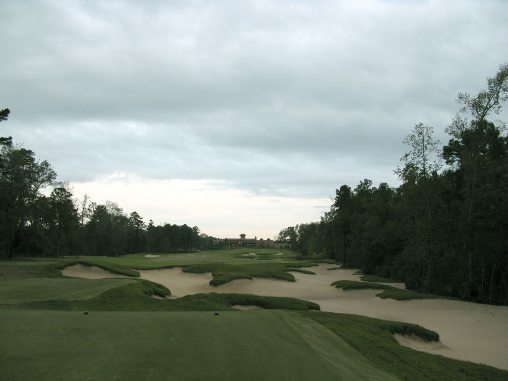 18th Hole at The Club at Carlton Woods (Fazio) (445 Yard Par 4)