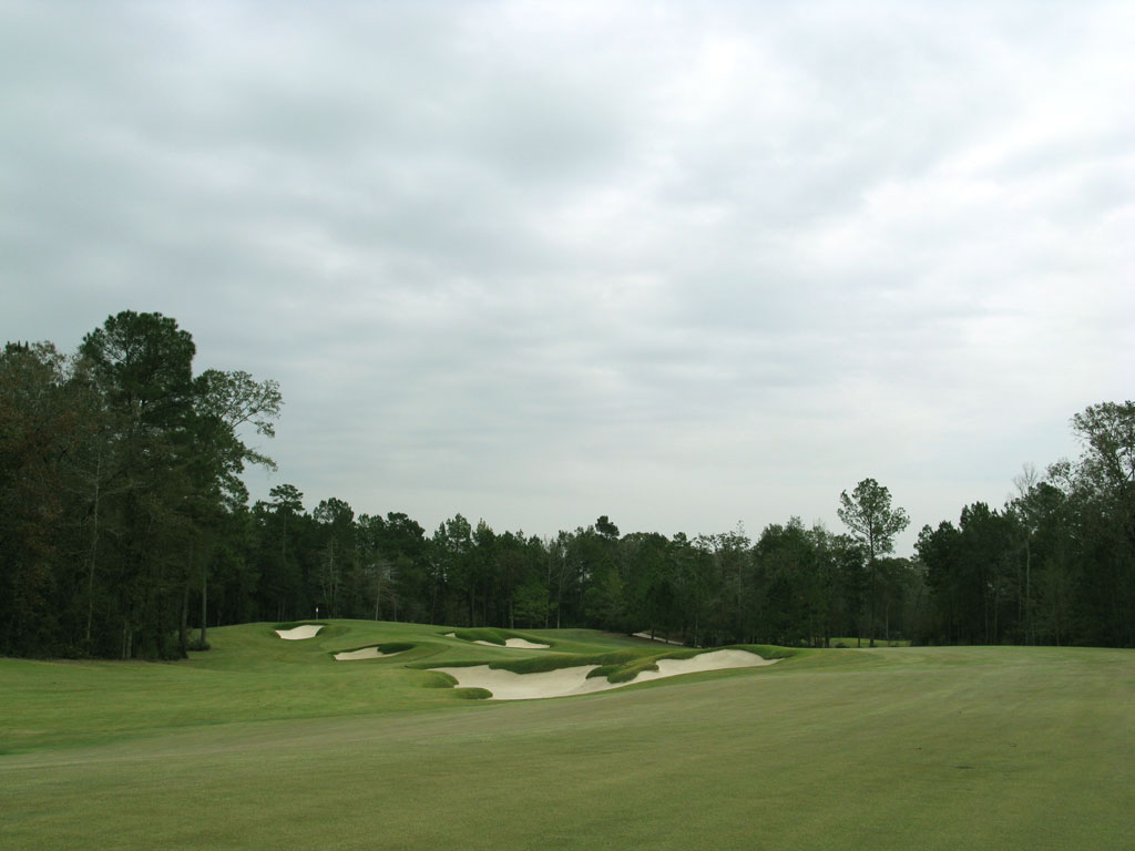 2nd Hole at The Club at Carlton Woods (Fazio) (583 Yard Par 5)