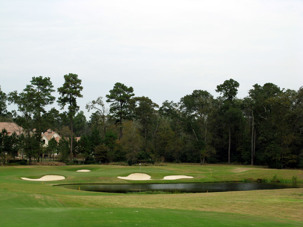 12th Hole at The Club at Carlton Woods (Nicklaus) (192 Yard Par 3)