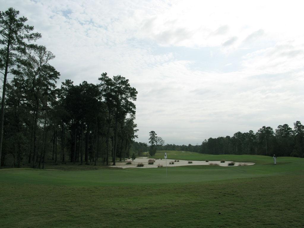 8th Hole at The Club at Carlton Woods (Nicklaus) (578R/544L Yard Par 5)