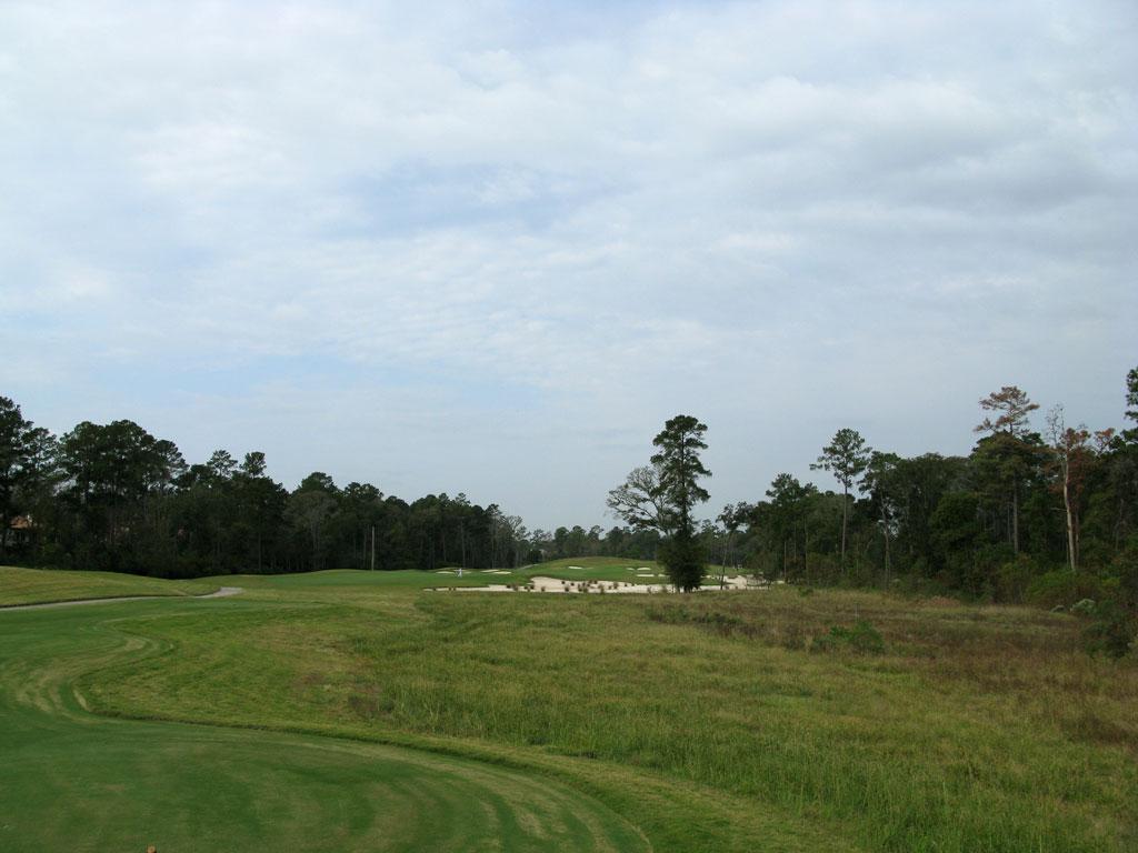 8th Hole at Carlton Woods (Nicklaus) (578R/544L Yard Par 5)