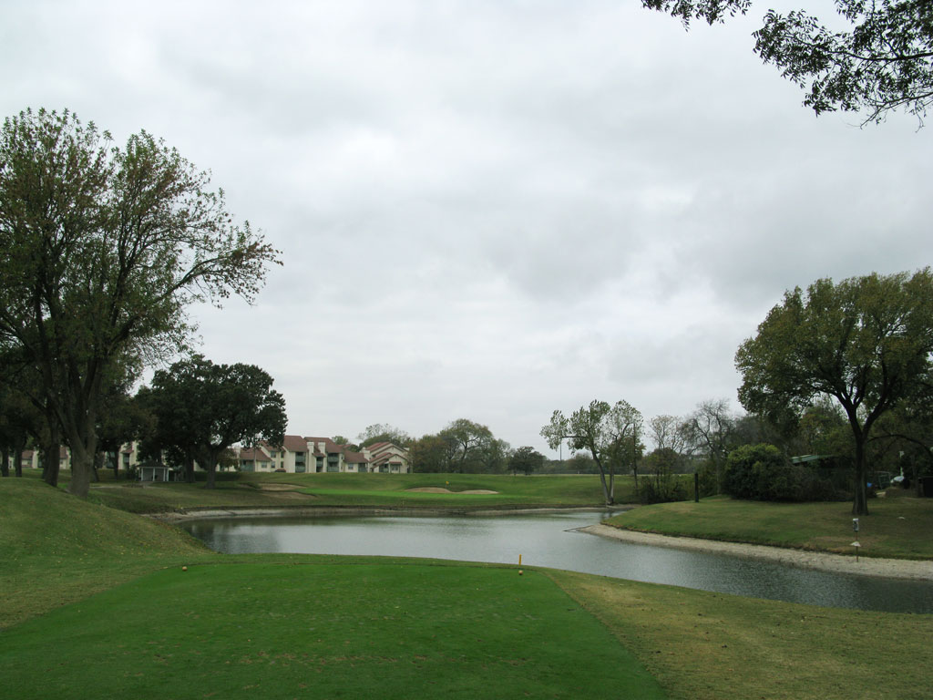 13th Hole at Colonial Country Club (171 Yard Par 3)