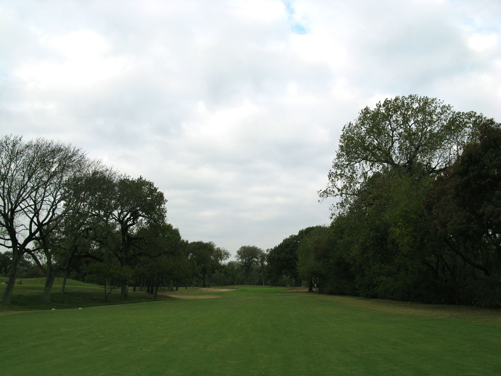 5th Hole at Colonial Country Club (472 Yard Par 4)