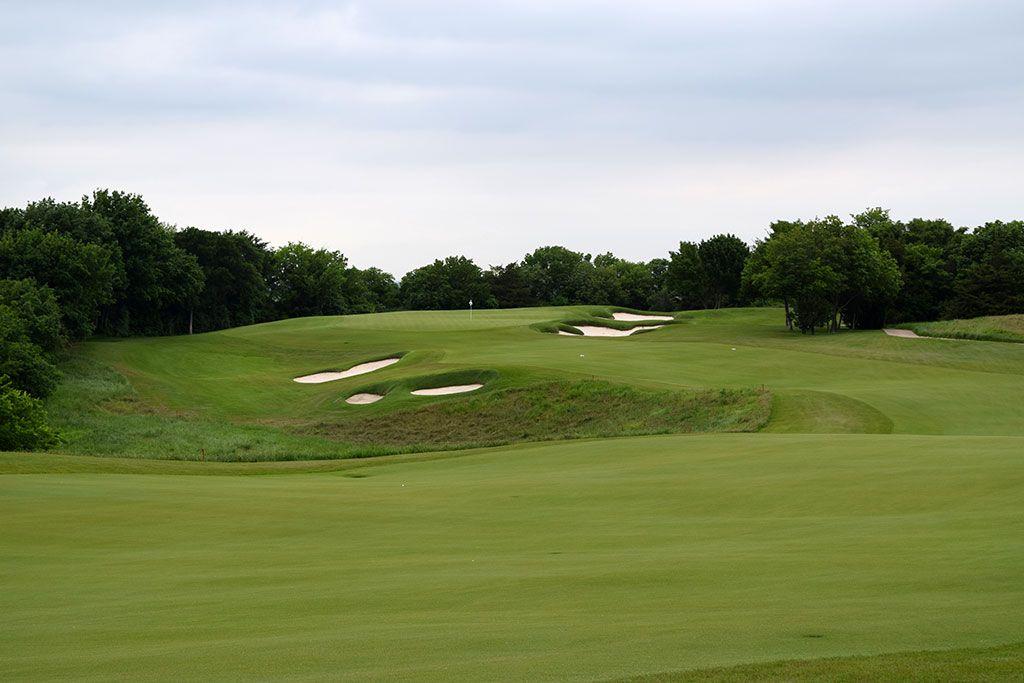 15th Hole at Dallas National Golf Club (458 Yard Par 4)
