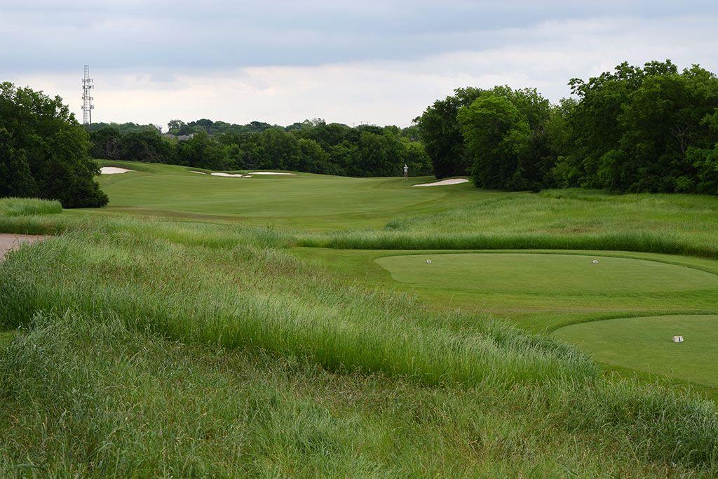 16th Hole at Dallas National Golf Club (489 Yard Par 4)