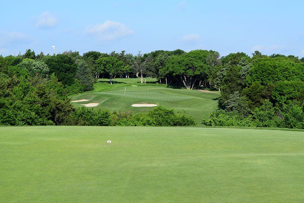5th Hole at Dallas National Golf Club (225 Yard Par 3)