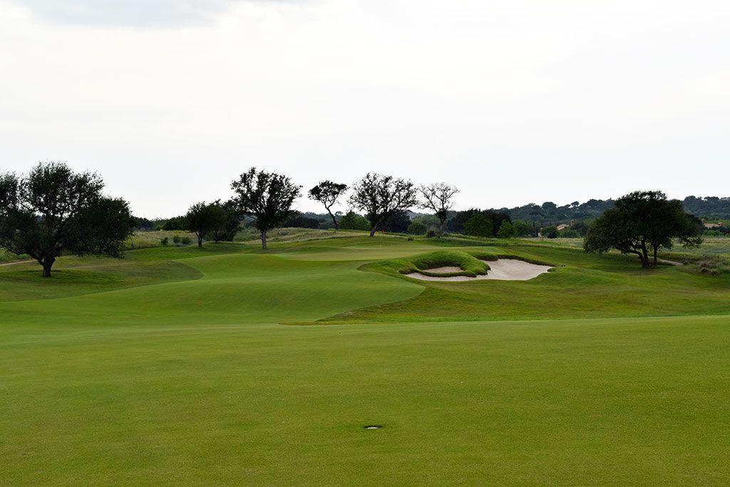 14th Hole at Escondido Golf and Lake Club (494 Yard Par 4)