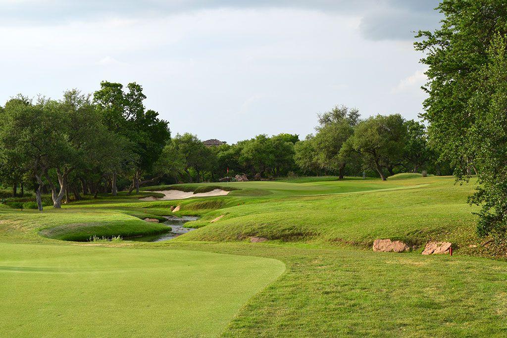 16th Hole at Escondido Golf and Lake Club (430 Yard Par 4)