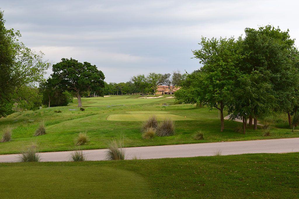 18th Hole at Escondido Golf and Lake Club (595 Yard Par 5)
