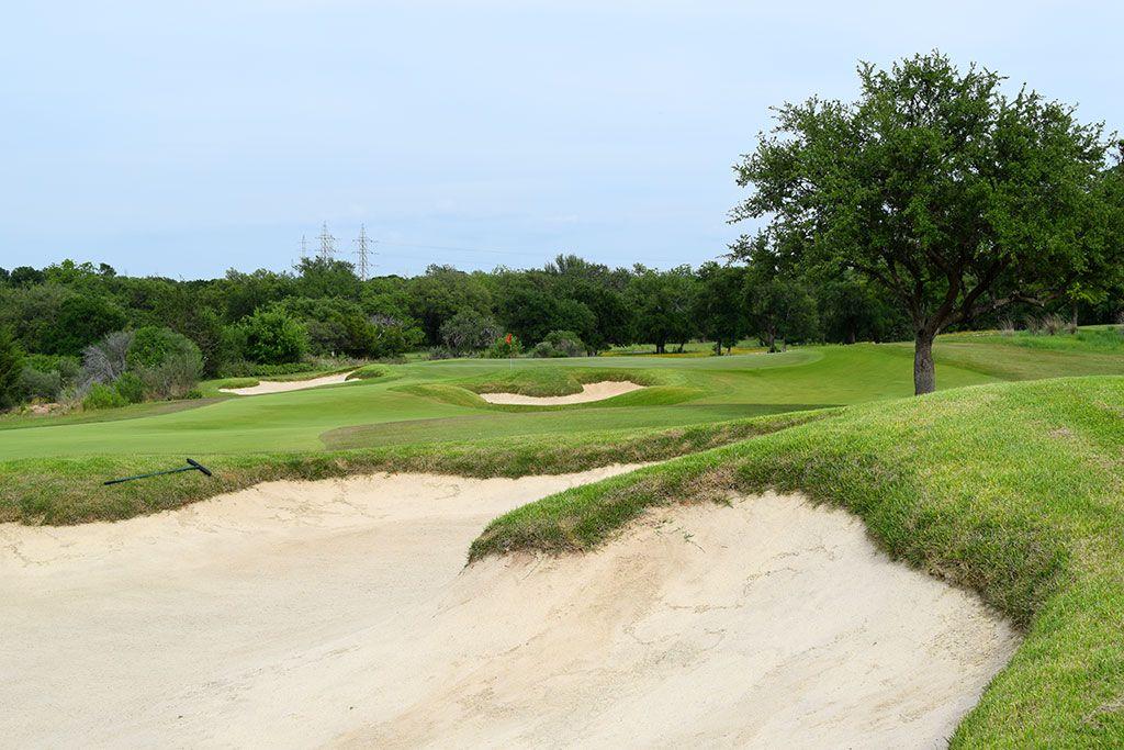 8th Hole at Escondido Golf and Lake Club (356 Yard Par 4)