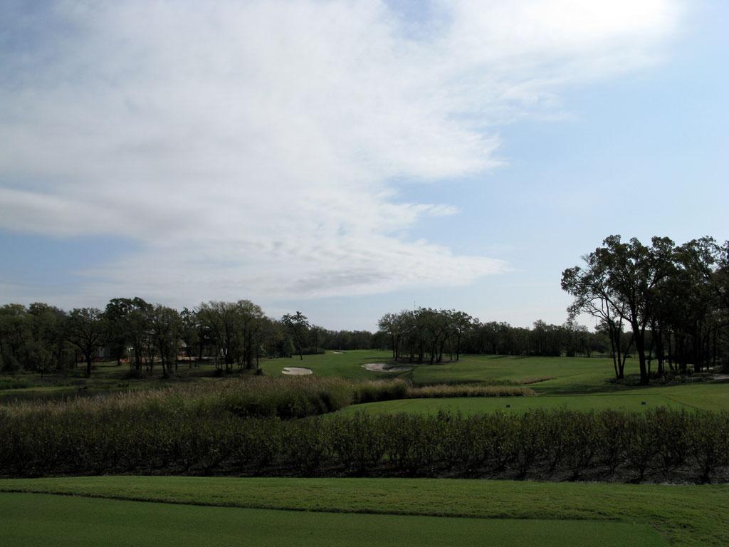 16th Hole at Miramont (454 Yard Par 4)