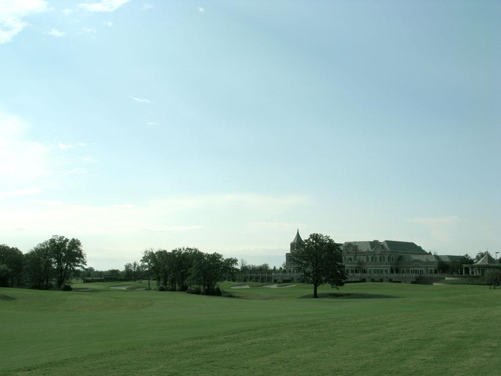 9th Hole at Miramont (598 Yard Par 5)