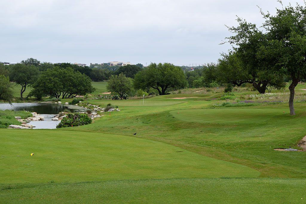 14th Hole at Spanish Oaks Golf Club (173 Yard Par 3)