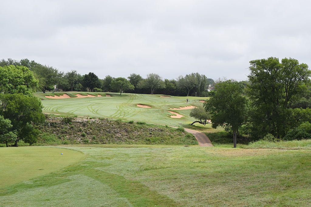 6th Hole at Spanish Oaks Golf Club (318 Yard Par 4)