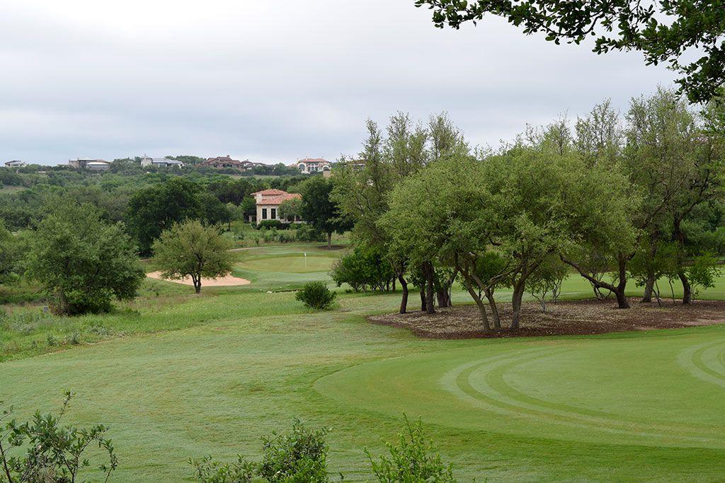8th Hole at Spanish Oaks Golf Club (562 Yard Par 5)