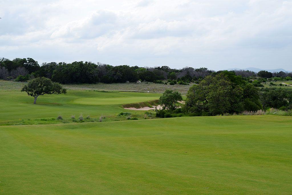 11th Hole at Summit Rock Golf Club (498 Yard Par 4)