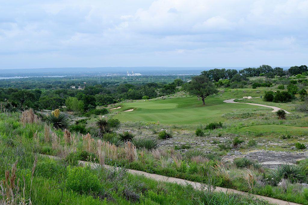 12th Hole at Summit Rock Golf Club (230 Yard Par 3)