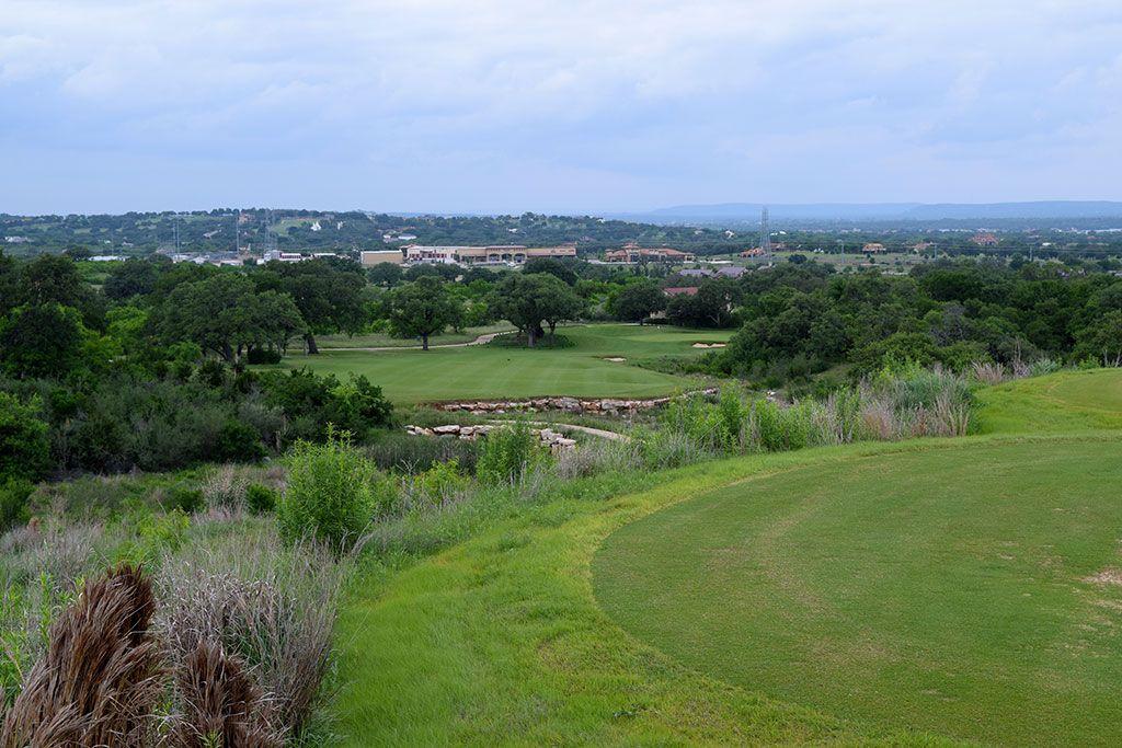 13th Hole at Summit Rock Golf Club (347 Yard Par 4)
