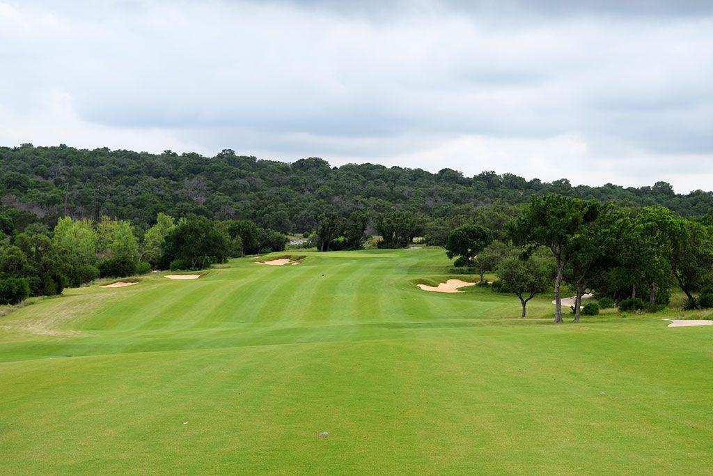5th Hole at Summit Rock Golf Club (587 Yard Par 5)