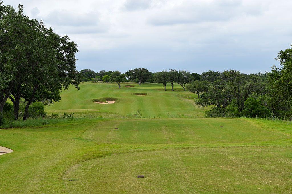 7th Hole at Summit Rock Golf Club (323 Yard Par 4)