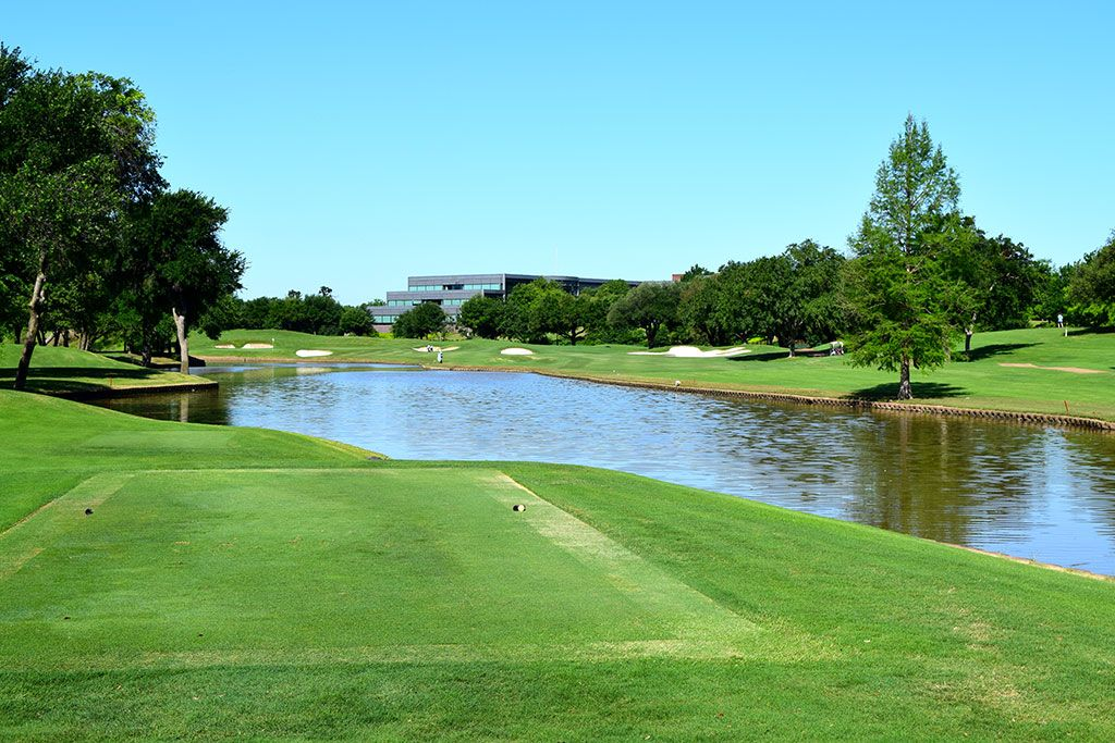 11th Hole at TPC Las Colinas (323 Yard Par 4)