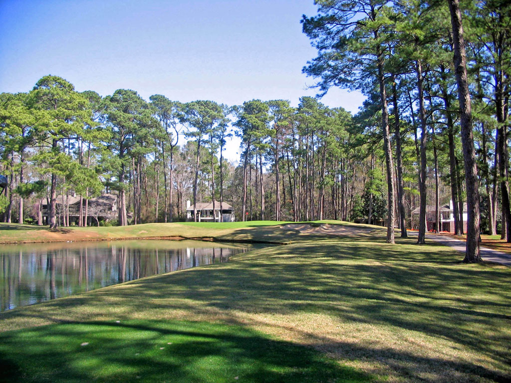 6th Hole at Walden at Lake Conroe (189 Yard Par 3)