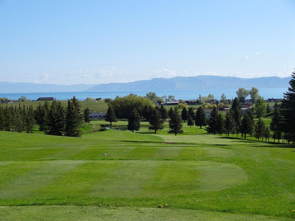 6th Hole at Bear Lake (Utah) (453 Yard Par 4)