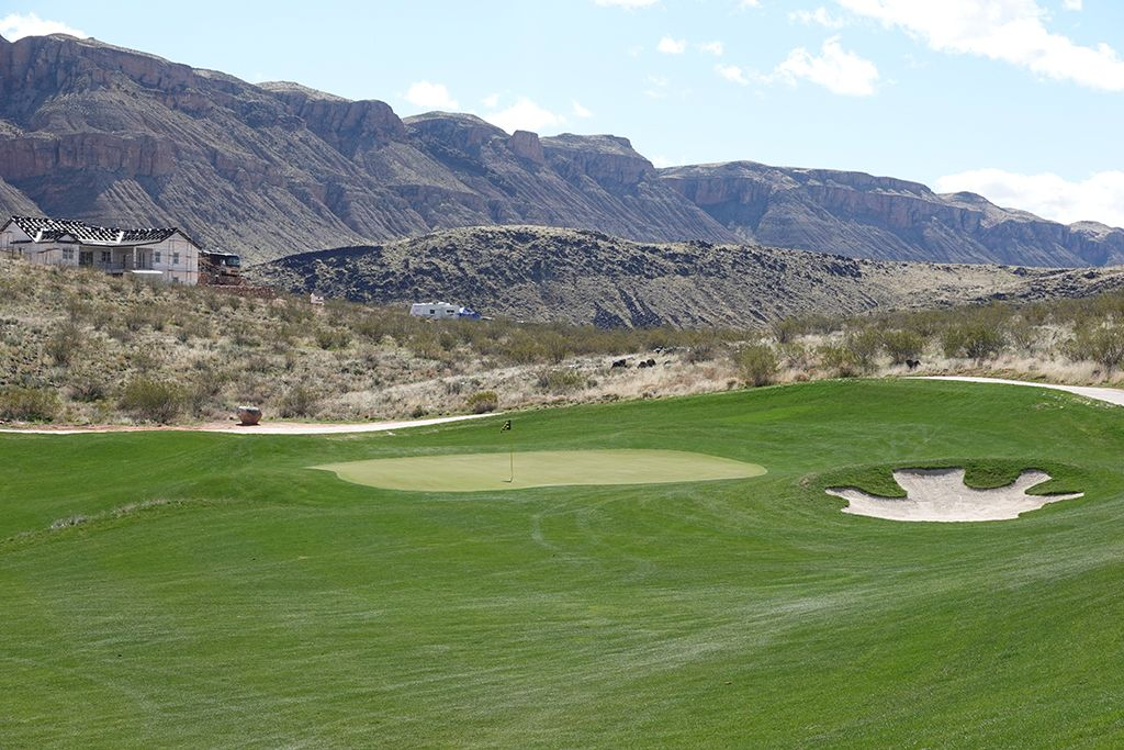 3rd (Valley of Sin) Hole at Copper Rock Golf Course (303 Yard Par 4)