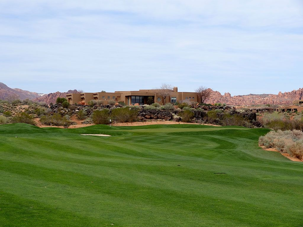 14th Hole at Entrada at Snow Canyon (229 Yard Par 3)