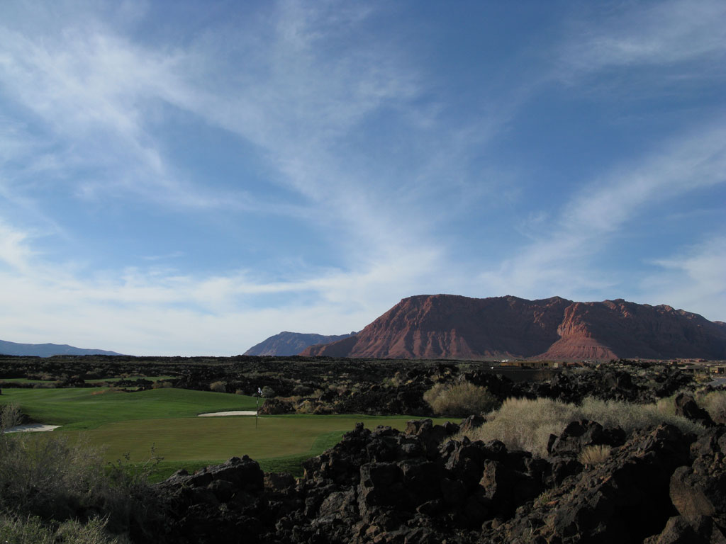 17th Hole at Entrada (427 Yard Par 4)