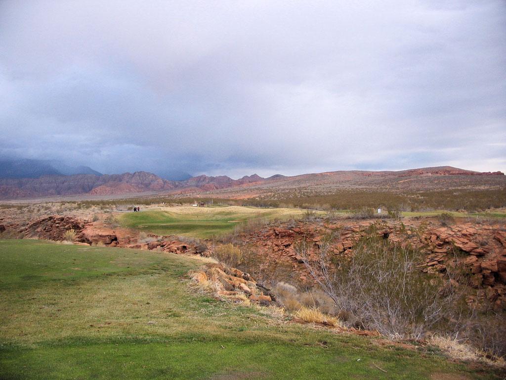 5th Hole at Green Spring Golf Course (173 Yard Par 3)