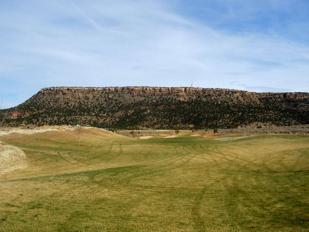 15th Hole at Kokopelli (356 Yard Par 4)