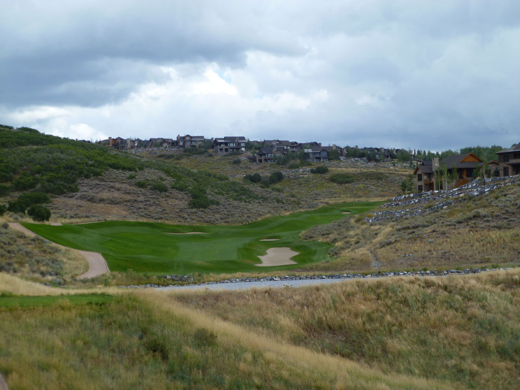 18th Hole at Promontory Club (Dye Canyon) (605 Yard Par 5)