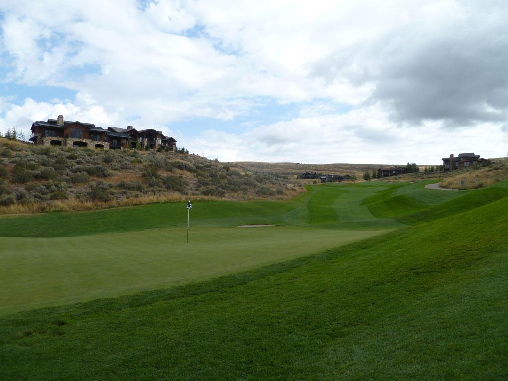 3rd Hole at Promontory Club (Dye Canyon) (720 Yard Par 5)