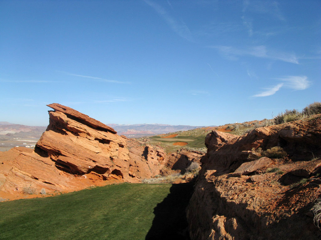 15th Hole at Sand Hollow Resort