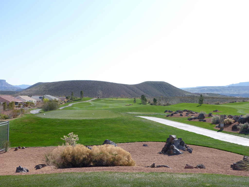 15th Hole at Sky Mountain (306 Yard Par 4)