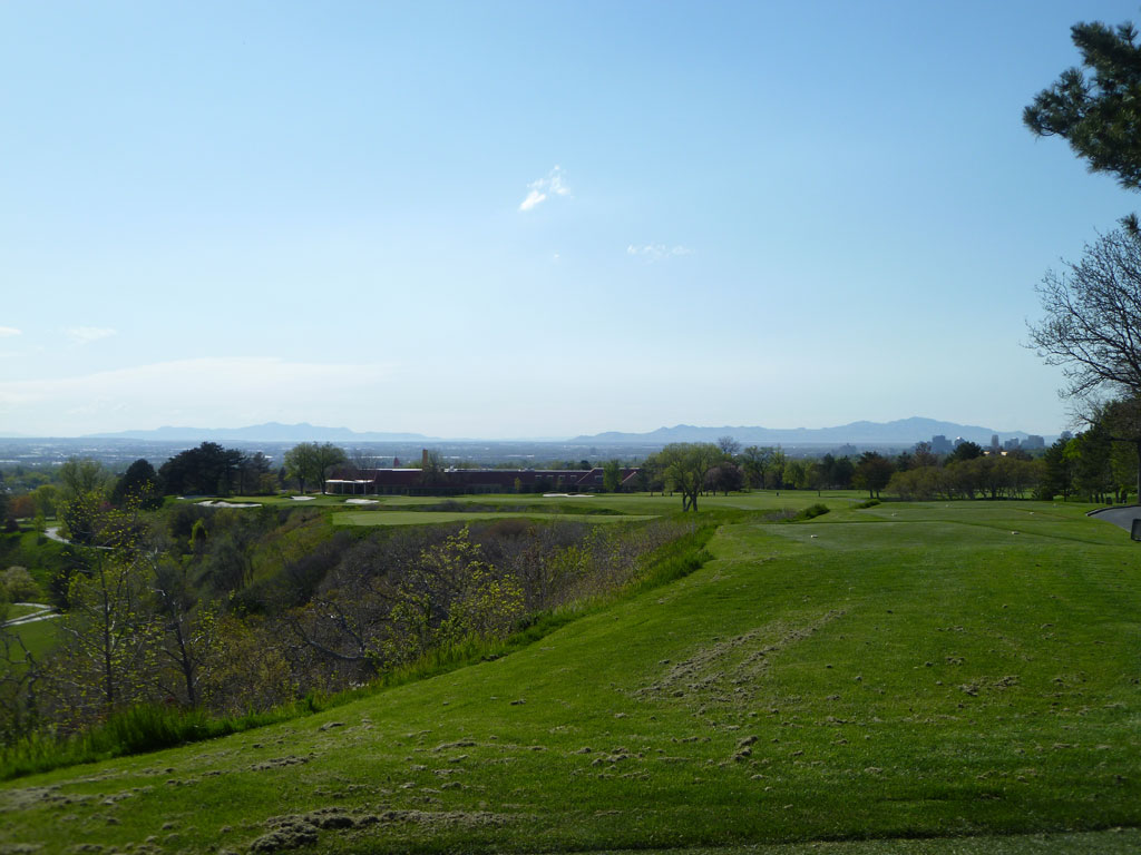 9th Hole at The Country Club (Salt Lake) (554 Yard Par 5)