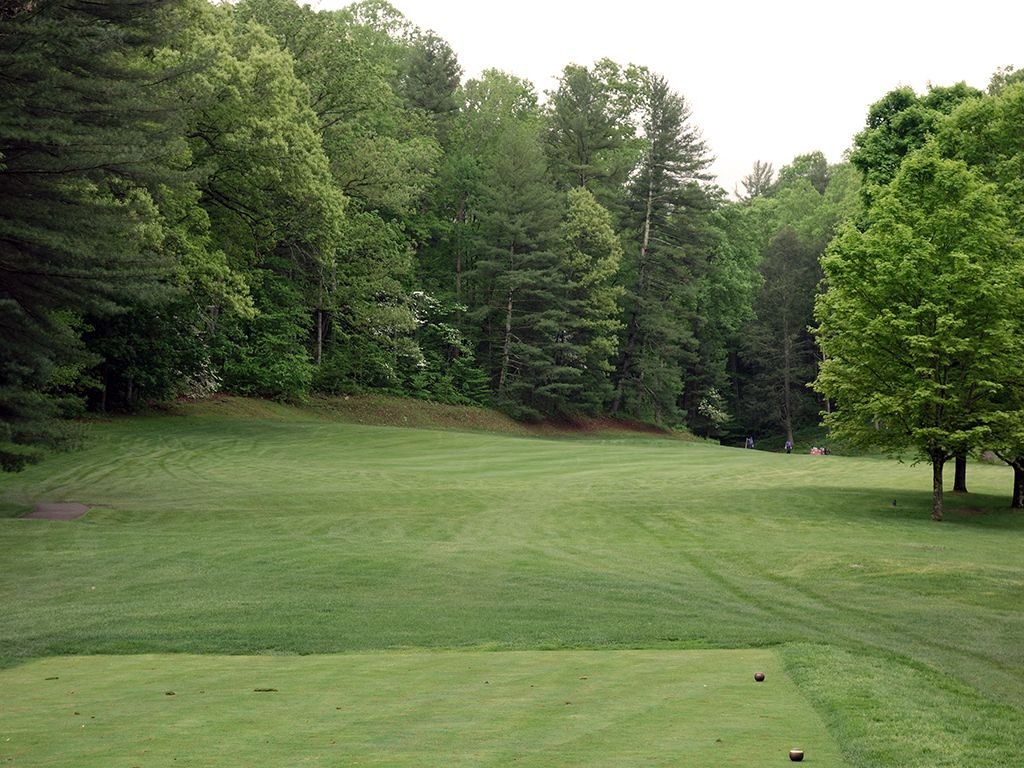 3rd Hole at Cascades Golf Course at Omni Homestead Resort (289 Yard Par 4)